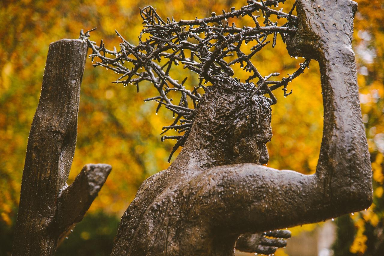Jésus couronne d'épine
