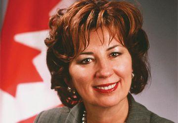 La sénatrice franco-albertaine Claudette Tardif, membre du Sénat de 2005 à 2018