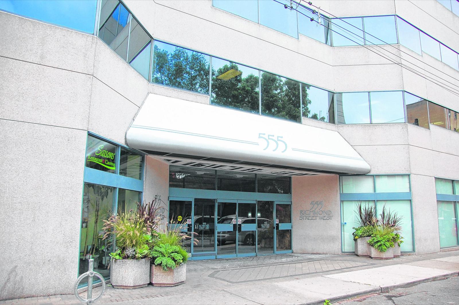 Le Centre francophone de Toronto au 3e étage du 555 Richmond Ouest.