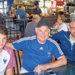 Jean-Pierre Boué président de Franco Foot à Toronto au pub Keating
