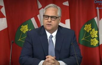 Le protecteur du citoyen de l'Ontario, Paul Dubé.