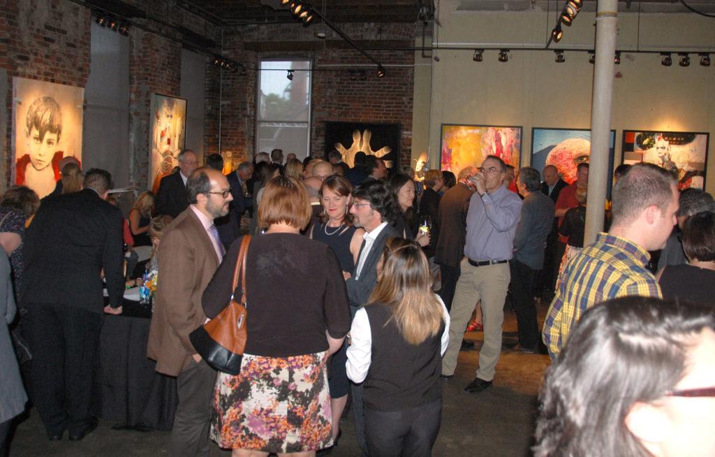 Réception du Bureau du Québec à Toronto à la galerie Thompson Landry