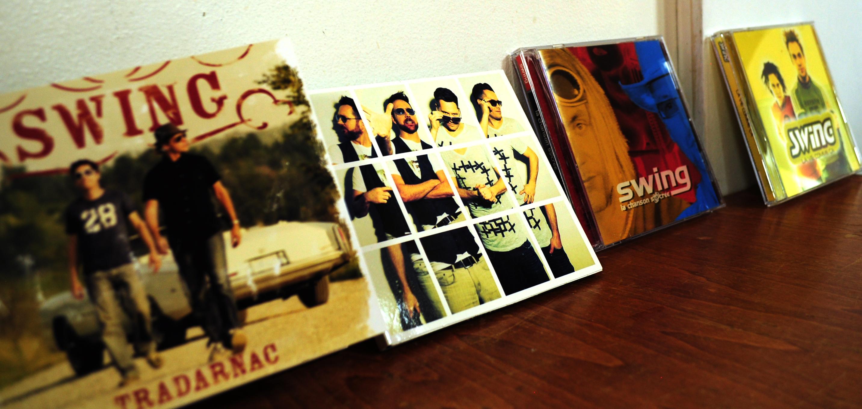 La discographie de Swing. (Photo: Thomson Birara)