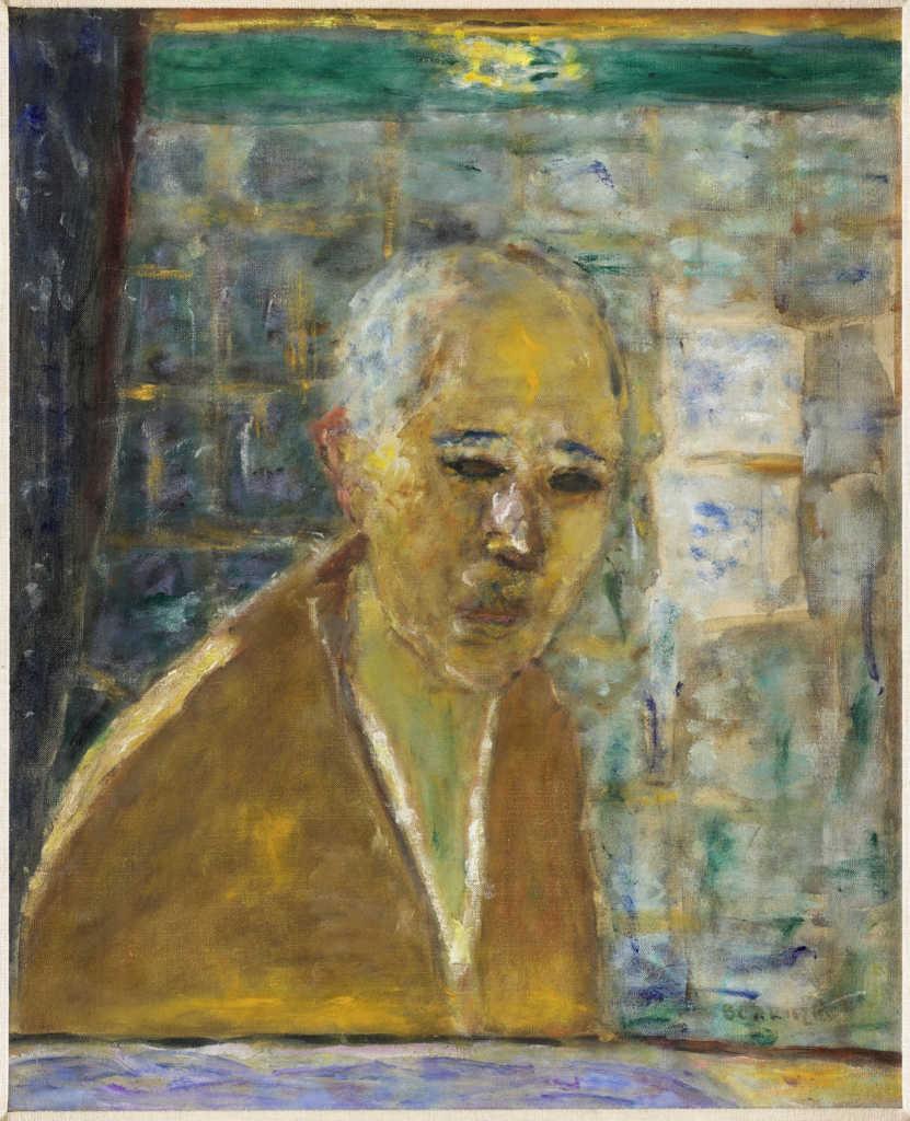 Pierre Bonnard: autoportrait.
