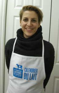 La chef Renée Lavallée, porte-parole du Calendrier du lait 2017.