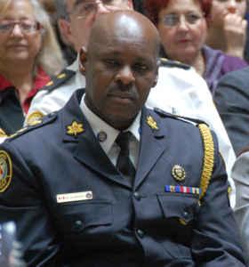 Le chef de la police de Toronto, Mark Saunders.