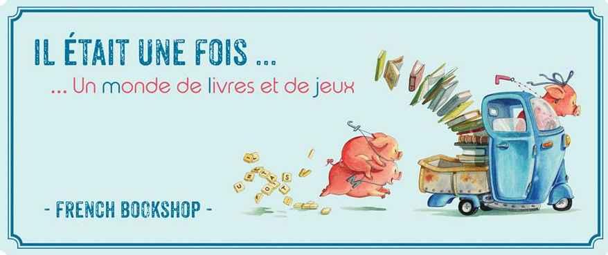 La promotion de la librairie: illustration de Dominique Mertens, bien connu en Belgique, un ami de Nathalie Vincke (les trois petits cochons représentent ses enfants!)