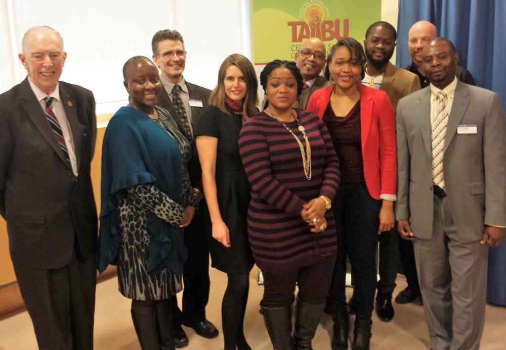 L'équipe du centre Taibu à Scarborough.