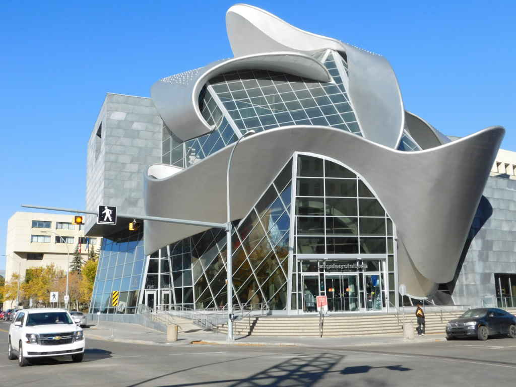 La Art Gallery of Alberta. (Photo: Lucas Aykroyd)