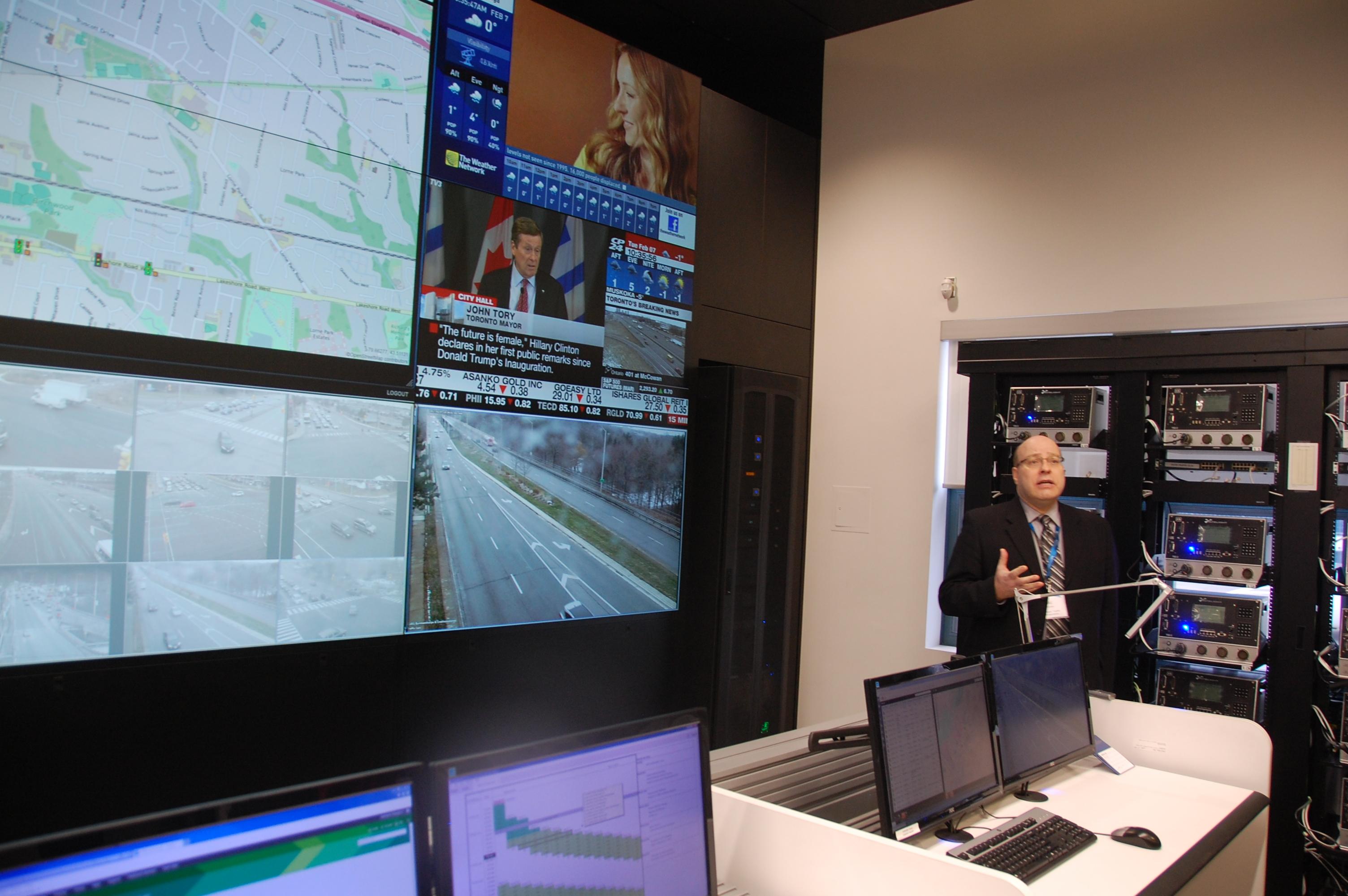 Shawn Slack, le directeur des technologies informatiques de la Mississauga.