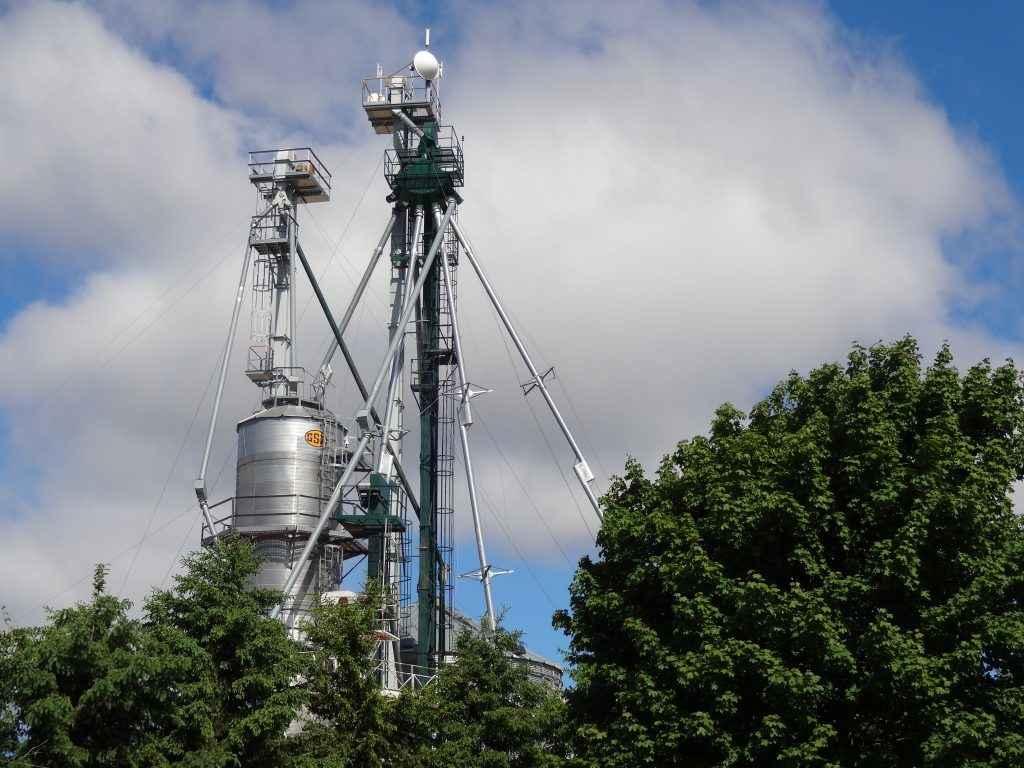 Un silo à grain