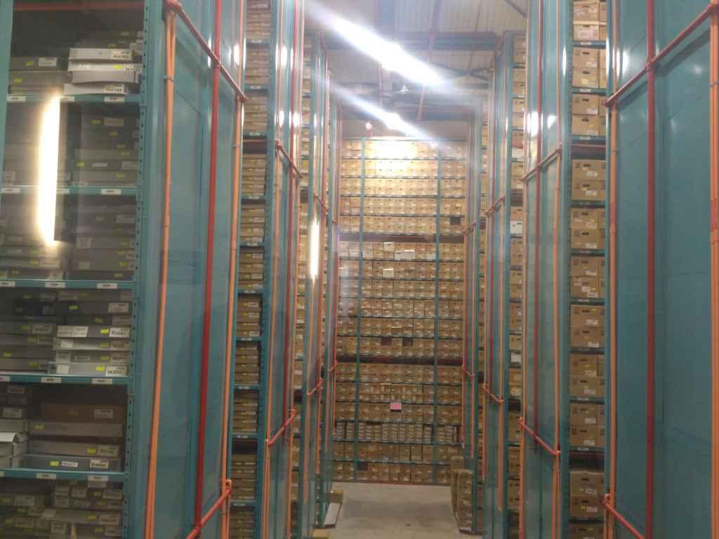 Une partie des archives de Toronto.