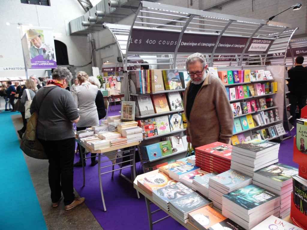 Des livres de tous les horizons de la francophonie. (Photo: Nicolas Dot)