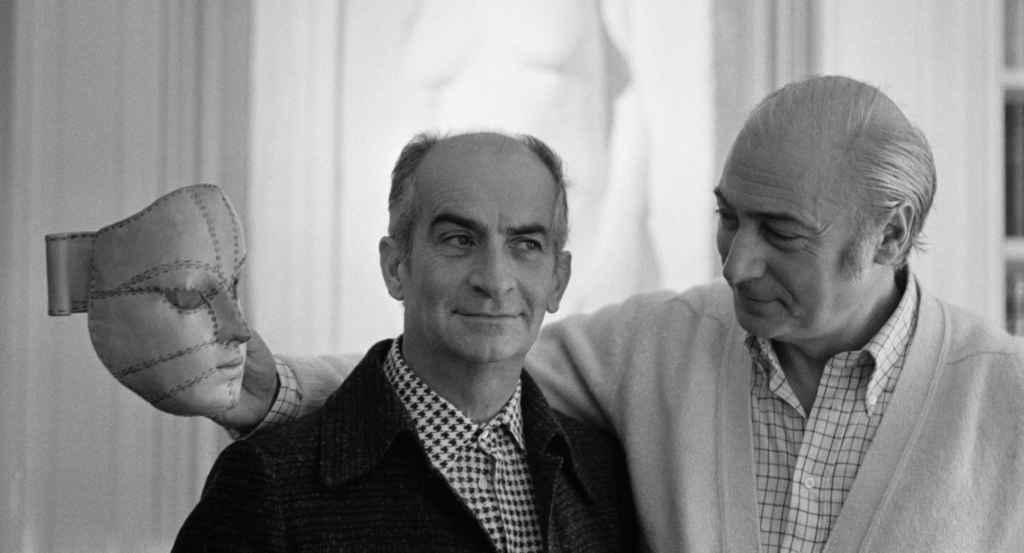 Louis De Funès avec le réalisateur français Gérard Oury (Photo: Jacques Haillot /Sygma/Corbis)