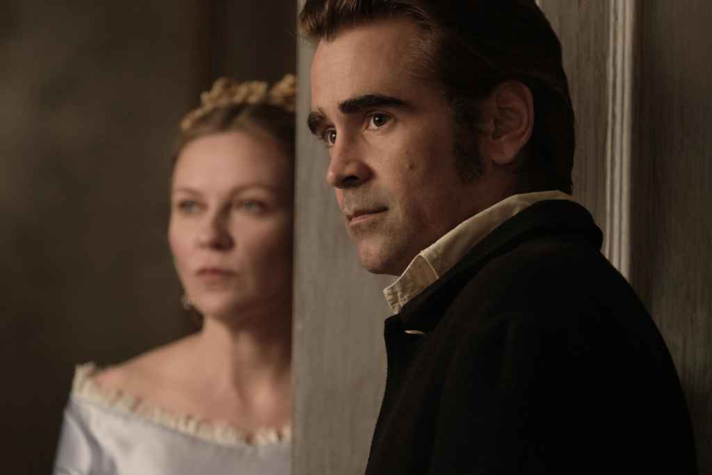 Kirsten Dunst et Colin Farrell dans The Beguiled, de Sofia Coppola.