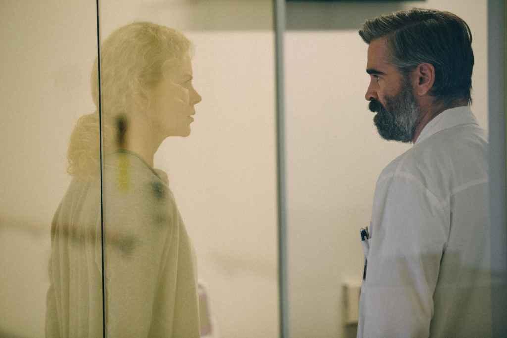 Nicole Kidman et Colin Farrell dans The Killing of the Sacred Deer.
