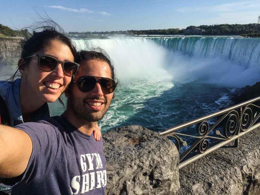 Aux chutes du Niagara. (Photo: page Facebook Kombipa'l Norte)