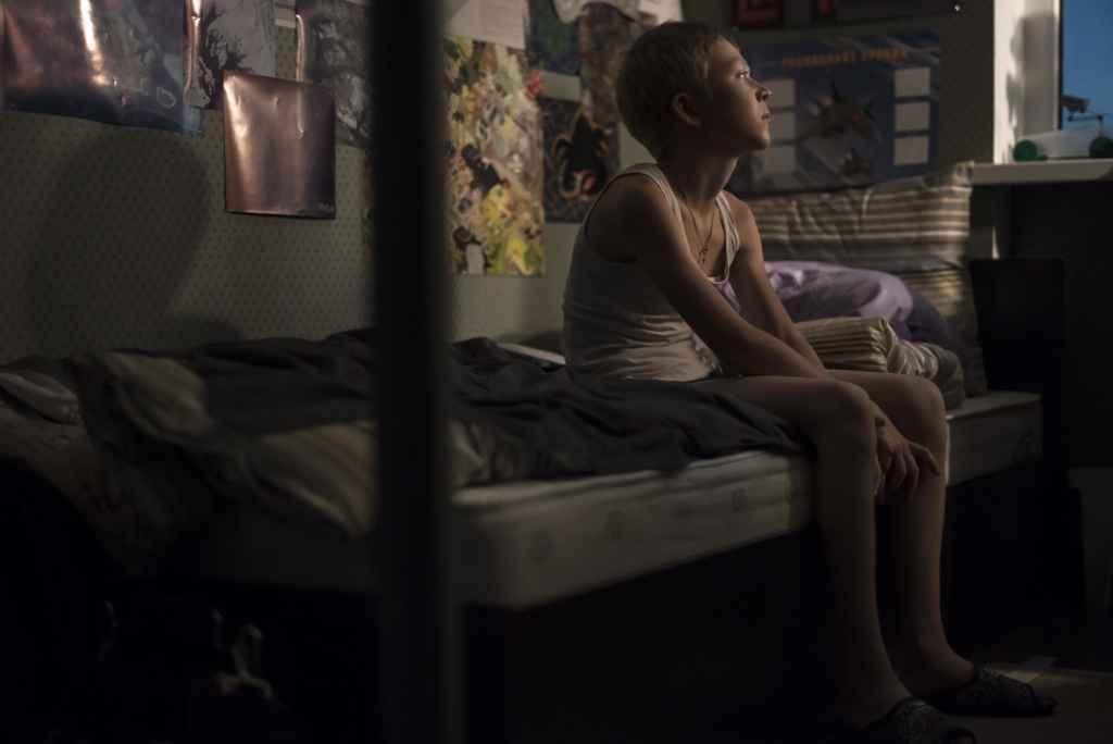 Une scène du film russe Nelyubov.