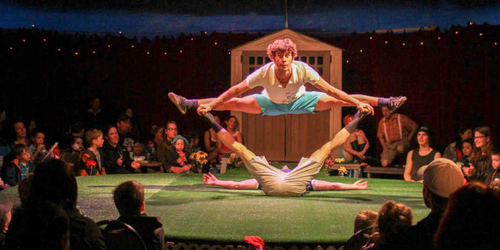 Vague de cirque (Photo: Renald Laurin)