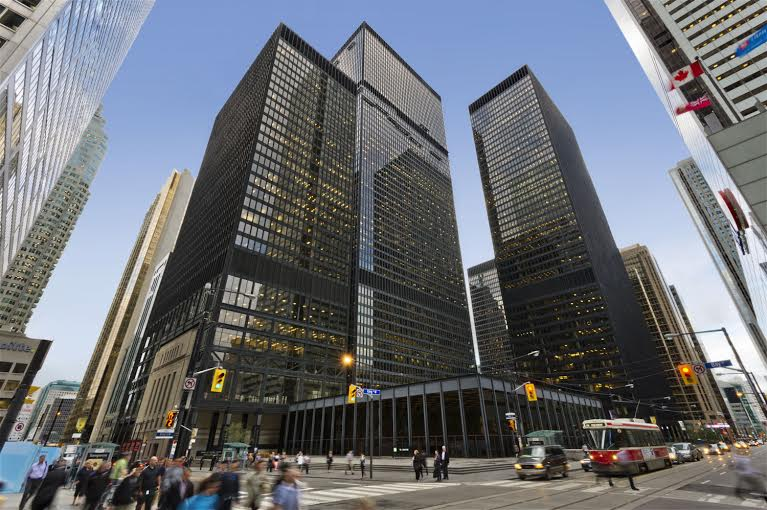 Le Centre Toronto-Dominion. (Photo: Cadillac Fairview)