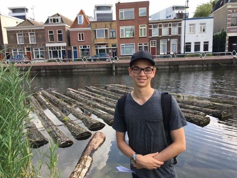 Devin Walker à Ypres en Belgique.