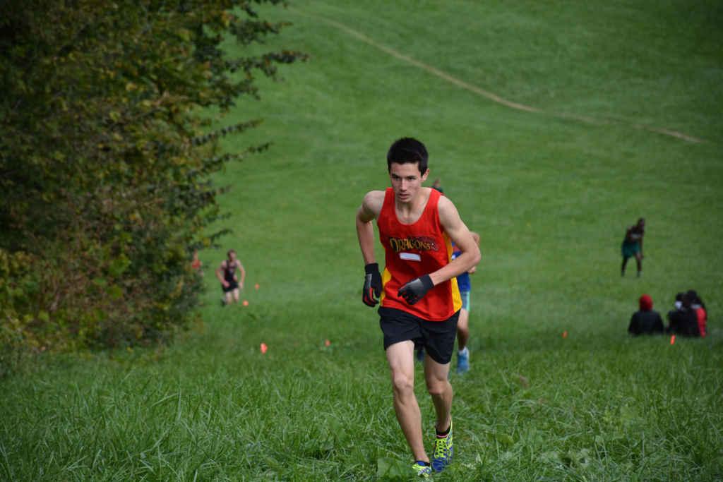 Marcel Aubry fait aussi de la course de cross-country.