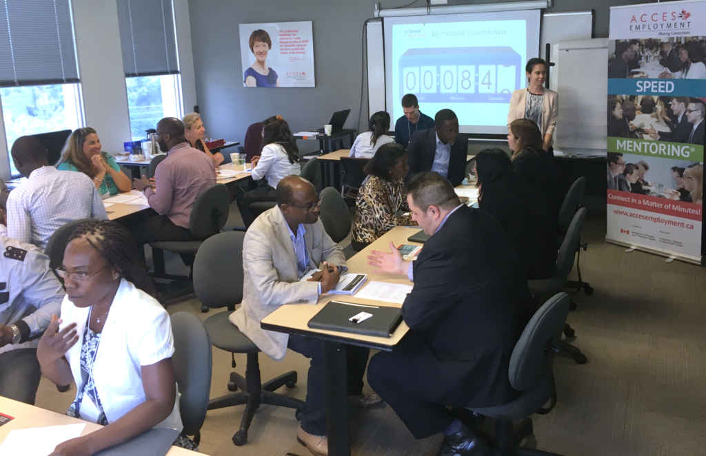 access-employment-speed-mentoring