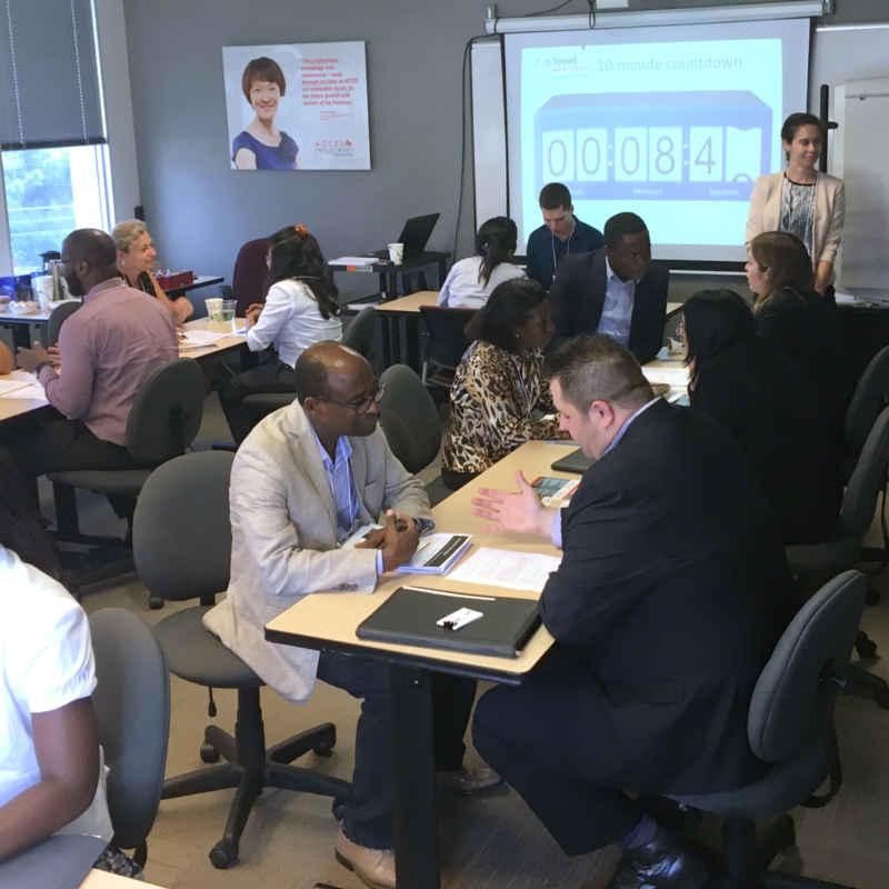 access-employment-speed-mentoring