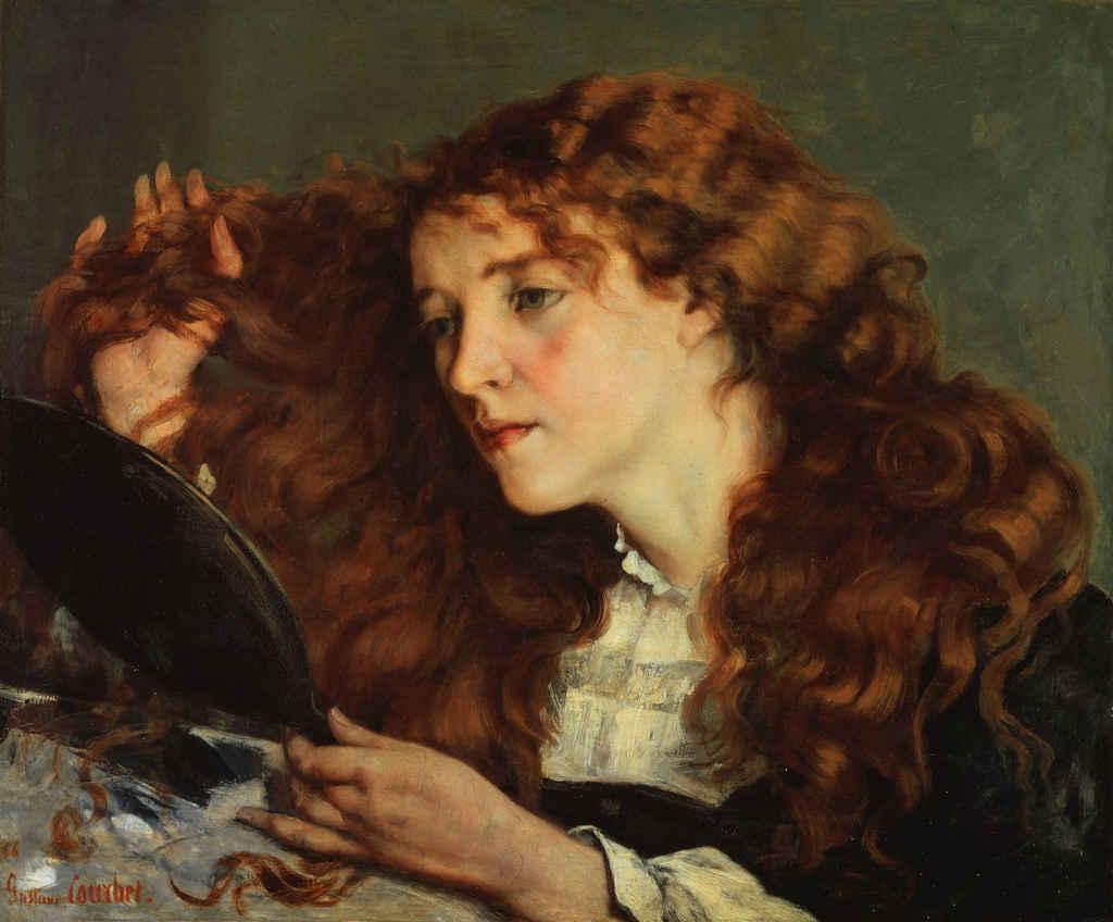 Jo, La belle Irlandaise, la maîtresse de Courbet