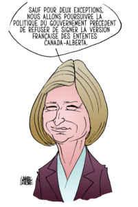 Rachel Notley, première ministre de l'Alberta