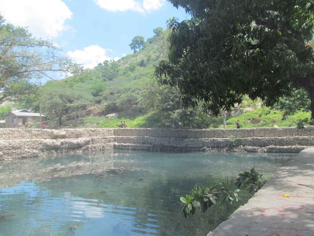 Le bassin de l'Impératrice au fort Culbuté.