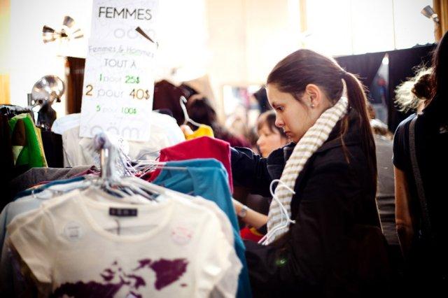 À la recherche du meilleur rapport qualité-prix de la mode québécoise.