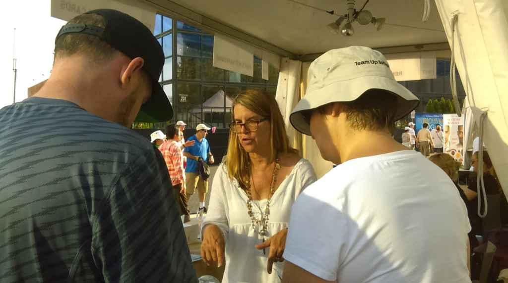 Nathalie Prézeau, auteure du guide Toronto Street Art Strolls