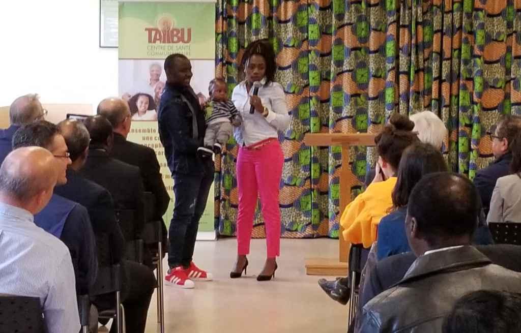 Témoignage d'une cliente du centre TAIBU, Christelle Nsufeu.