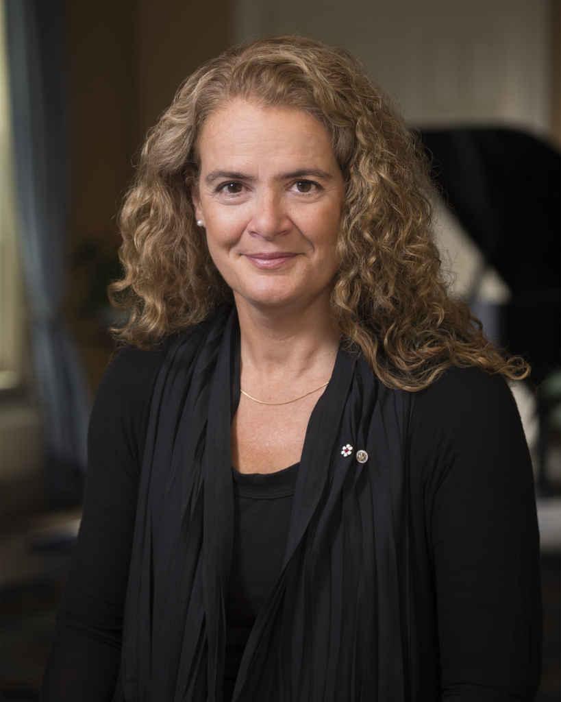La photo officielle de la nouvelle gouverneure générale Julie Payette. (Photo: Sgt Johanie Maheu, Rideau Hall)