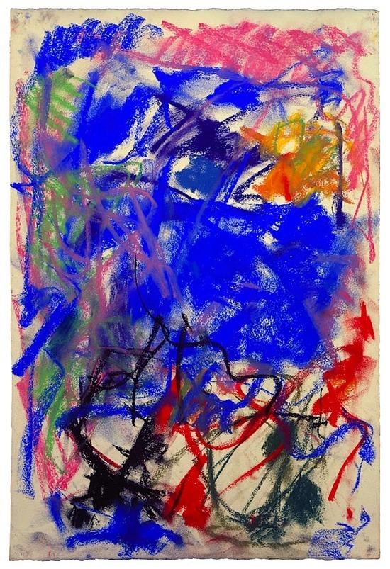 Joan Mitchell, sans titre, 1989.