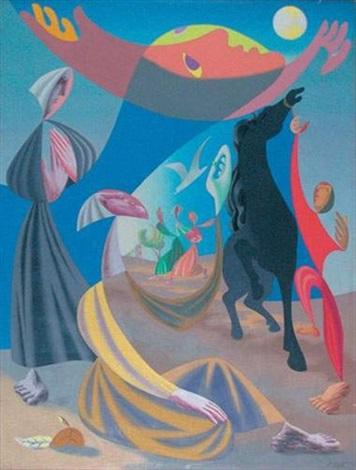 L'âge d'or (Cheval noir), 1936.