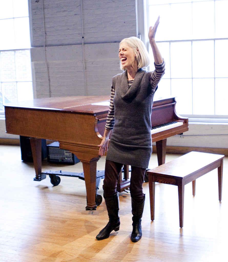 Jane Miller, la chanteuse a capella.