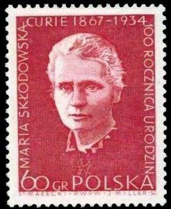 Un timbre polonais émis en 1967.