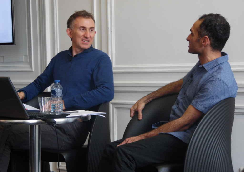 Martin Battie et Tammer El-Sheikh.