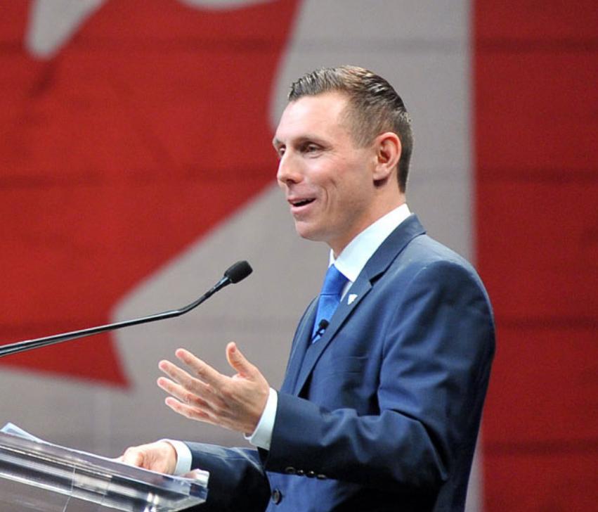 Patrick Brown, chef du Parti progressiste-conservateur de l'Ontario