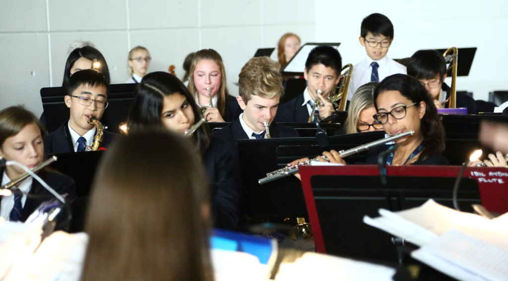 L'orchestre de la TFS a été mise à contribution.