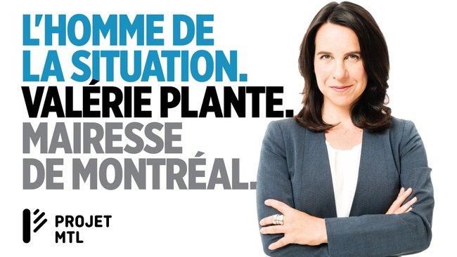 Valérie Plante mairesse de Montréal et non madame le maire
