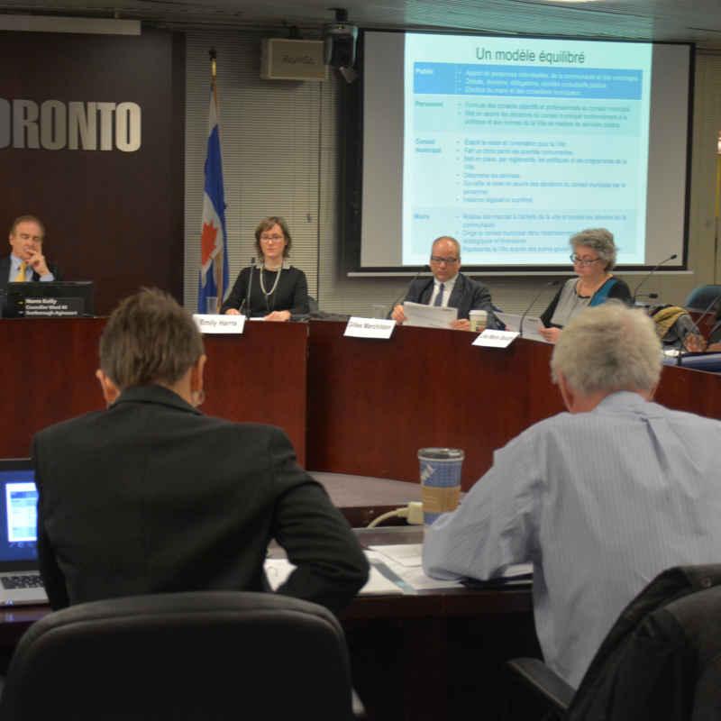 La dernière réunion du Comité franco de la Ville de Toronto remonte à avril.