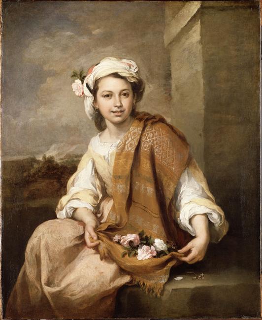 Jeune fille aux fleurs, vers 1870, p. 40