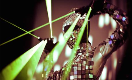 Spectacle de lasers.