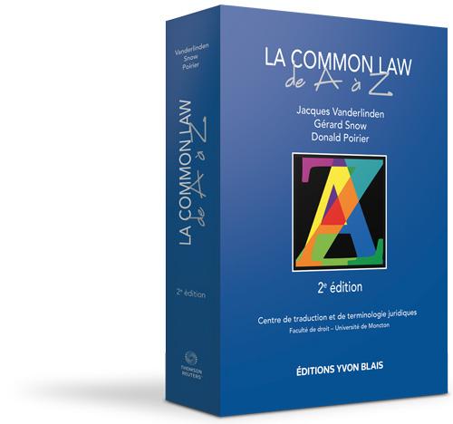 La common law de A à Z