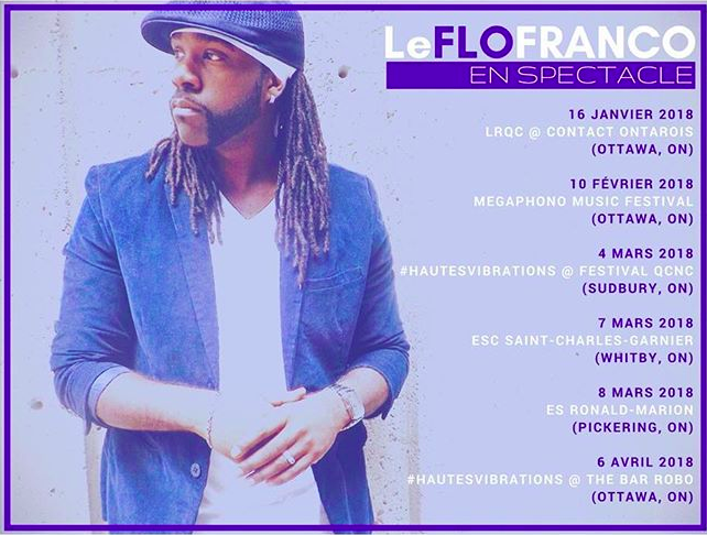 Le Flo Franco sur scène