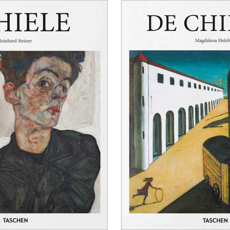 Schiele De Chirico Taschen