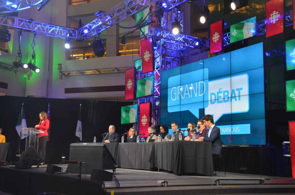 Grand débat Radio-Canada Université de l'Ontario français
